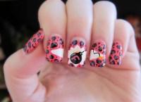 F-Bomb Nails with Cheetah Print Accents - Nail Art Gallery
