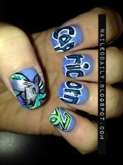 capricorn - nail art