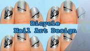 bicycle nail art design