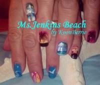 Jenkins Beach - Nail Art Gallery