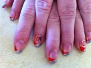 ohio state - nail art