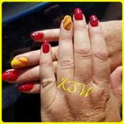 softball nails - nail art