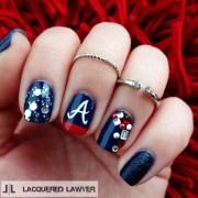 town - nail art