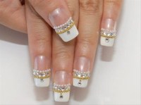 New French nail design - Nail Art Gallery