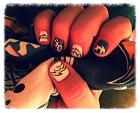 San Diego Chargers - Nail Art Gallery