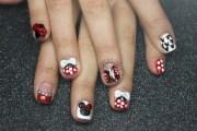 minnie mouse disney nails - nail