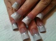 classic wedding nailz - nail art