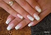 bridal nailart - nail art