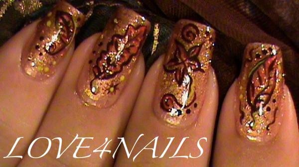 Autumn Nail Art 10