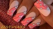 thread nail art design
