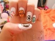 sports - nail art
