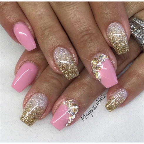 Gold Amp Diamond Nail Art Gallery