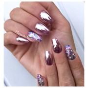 chrome nails - nail art