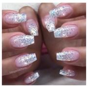 glitter ombr nails - nail art