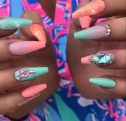 nails nailart ballerina airbrush