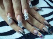 two faces nails - nail art