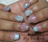 Cute, Short, Oval Nails - Nail Art Gallery