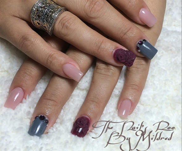 Simple Square Nails