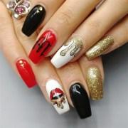 drip nail - art