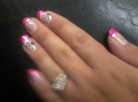 cutenailsart: weaving lines nail art design/black and ...