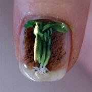 aquarium 4 - nail art