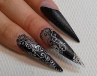 Swirl design - Nail Art Gallery Step-by-Step Tutorial Photos