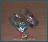 nail art aquarium nails