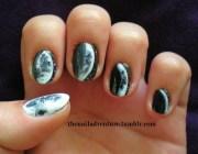moon phases - nail art