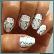 chanel inspired nail art