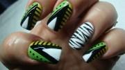 african theme - nail art