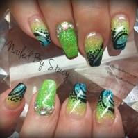 Tropical Vacation - Nail Art Gallery