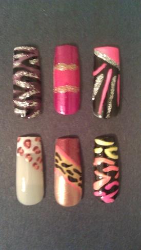 Simple Funky Nail Designs  Nail Art Gallery