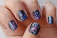 Galaxy nails - Nail Art Gallery