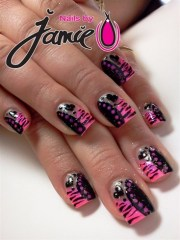 sweet 16 party nails - nail art