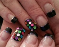 sequin nails - Nail Art Gallery