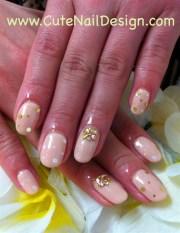 simple gel nails - nail art