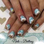 beach themed - nail art
