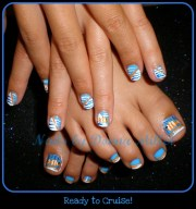 ready cruise - nail art