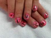 mossy oak - nail art