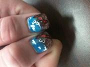 crabs - nail art