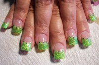 tinker bell green - Nail Art Gallery