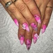 sweet 16 nails - nail art