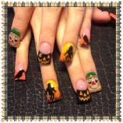 scarecrows - nail art