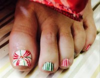 Christmas Toe Nail Art Gallery - christmas toe nail art ...