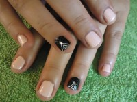 Nail Art Ideas For Very Short Nails