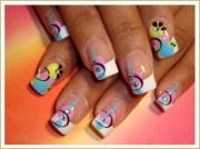 french fun nail art