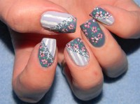 Vintage nail art design - Nail Art Gallery