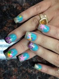 summer beach nails - Nail Art Gallery