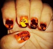 lion king - nail art