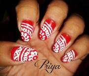 indian design - nail art
